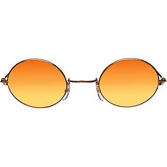 John złoto okulary pomarańczowy Yello - 15340