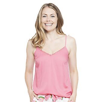 Cyberjammies 4149 Women's Pippa Pink Pyjama Top