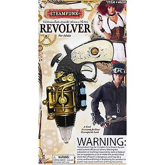 Revólver do estilo steampunk