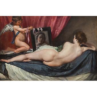 Het toilet van Venus, Diego Velazquez, 60x40cm