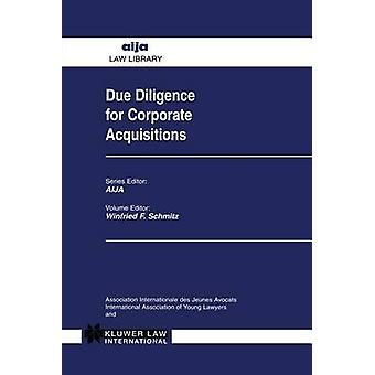 Due Diligence för företagsförvärv av Kluwer akademiska utgivare