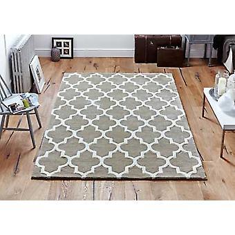 Arabeske Beige Rechteck Teppiche Plain/fast schlicht Teppiche