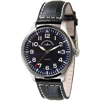 Zeno-watch mens watch Navigator NG quartz, blue 6569-515Q-a4