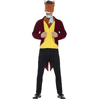Roald Dahl fantastic Mr Fox costum
