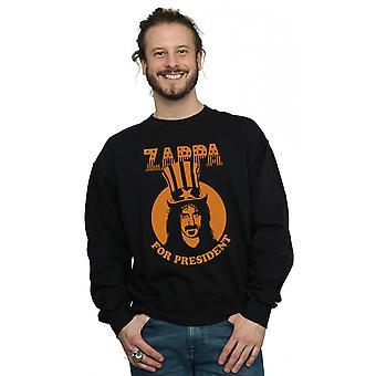 Frank Zappa mænds for præsident sweatshirt