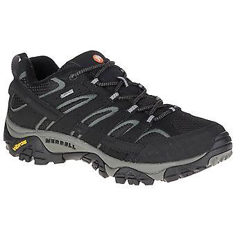 Merrell Black Mens Moab 2 GTX Walking Shoes