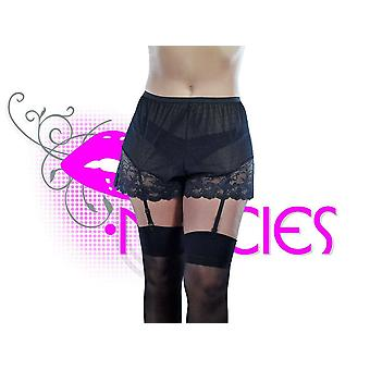 Nancies Lingerie Luxury French Cami Knickers with Garters (NLcami4)