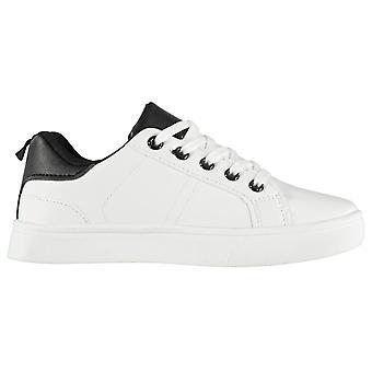 Stof kinderen Junior laag blok Childrens trainers schoenen Pumps sneakers