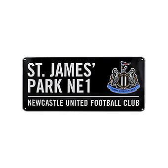 Newcastle United FC St James Park Street Sign (en)