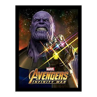 Avengers, framed poster 35 x 46 cm