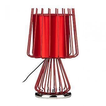 Premier Home Aria Table Lamp, Ceramic, Red