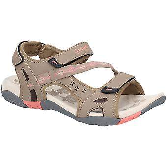 Cotswold Womens Whichford Touch Fäst Sandal Taupe / Rosa
