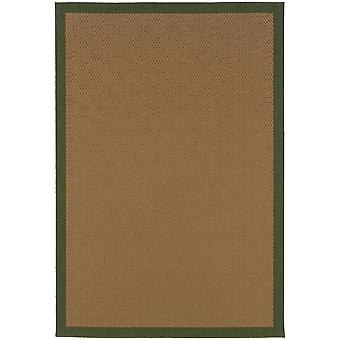 Lanai 525g6 beige/green indoor/outdoor rug rectangle 7'3