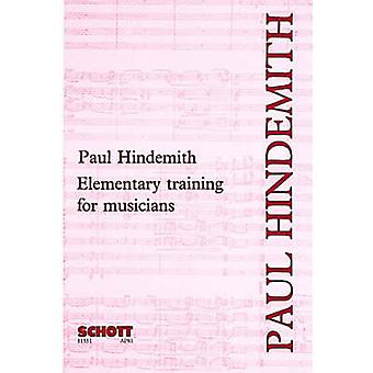 Elementary Training for Musicians (2nd) by Paul Hindemith - 978090193