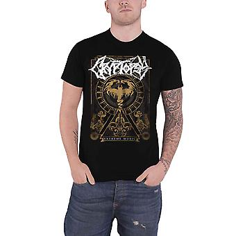 Cryptopsy T Shirt Extreme Music Band Logo new Official Mens Black
