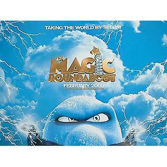 Magic Roundabout (kaksipuolinen) alkuperäinen elokuva juliste