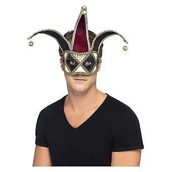 メンズゴシックベネチアンハーレクイン Eyemask ファンシードレスアクセサリー