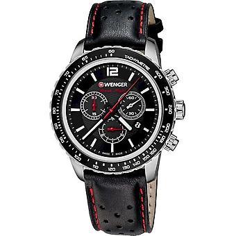 Wenger Men's Watch 01.0853.105 Chronographs