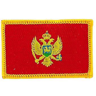 Aufnäher Ecusson Brode Flagge Montenegro Montenegrin Thermocollant Insigne Blason