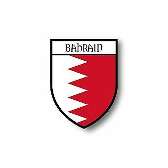 Autocollant Sticker Voiture Moto Blason Ville Drapeau Bahrain