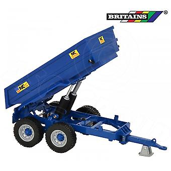 Britains 43182 Britains NC Power - Tilt Dump Trailer 314 1:32