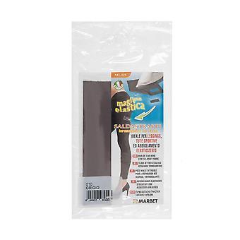 Marbet MB121.010 | Stretch Jersey Fabric | Iron-On | 20 x 15cm | Mid Grey
