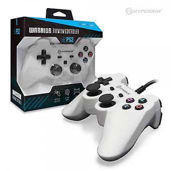 "PS3 ""Knight"" Premium Controller (White) - Hyperkin"