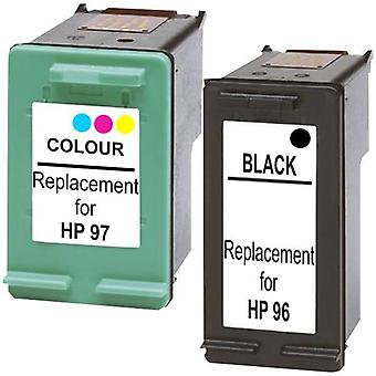 96 Compatible Inkjet Cartridge Set 1 2 Cartridges