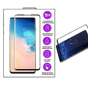 Samsung Galaxy S10e - Herdet Glass SkjermBeskyttelse - Full skjerm