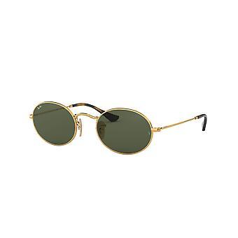 راي بان RB3547N 001 الذهب / النظارات الشمسية الخضراء