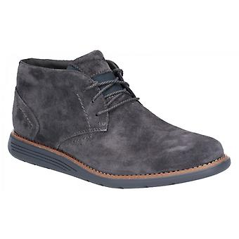 Rockport Total Motion Sportdress Hombres Ante Tobillo Botas Humo
