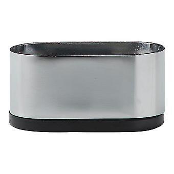 Picior de mobilier oval cromat 3 cm