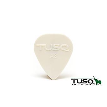 Graph Tech Tusq Pick 0.88mm White - 6 Pack