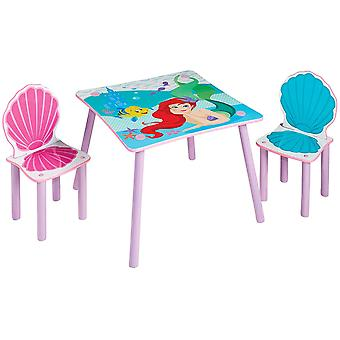 Set Table with 2 chairs Disney Princesses Ariel
