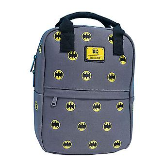 Batman Backpack Canvas Embriodered Signal Logo new Official DC Comics Loungefly