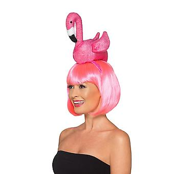 Flamingo Headband, Hawaiian Luau Fancy Dress