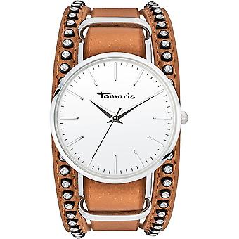 Tamaris - Wristwatch - Women - TW105 - silver, brown