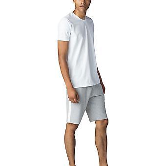 Mey 69730-101 Men's Sanchez White Short Sleeve Top