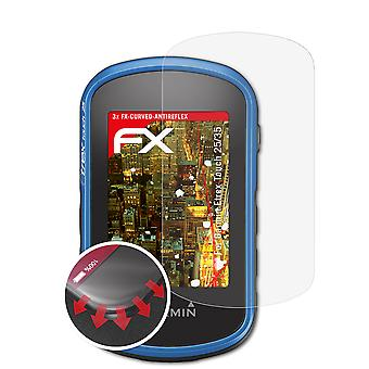 atFoliX Pellicola Vetro compatibile con Garmin Etrex Touch 25/35 9H Armatura di protezione