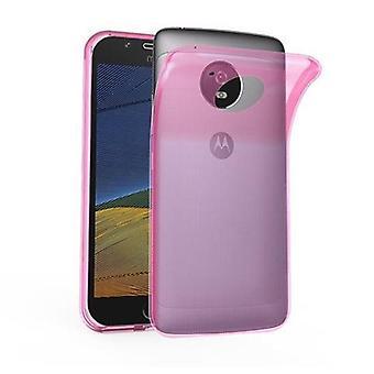 Cadorabo Case for Motorola MOTO G5 PLUS Case Cover - Mobile Phone Case made of flexible TPU silicone - Silicone Case Protective Case Ultra Slim Soft Back Cover Case Bumper