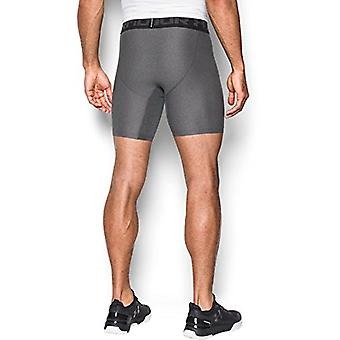 Under Armour mens HeatGear Armour 2.0 6-inch Compression, Grey, Size Small