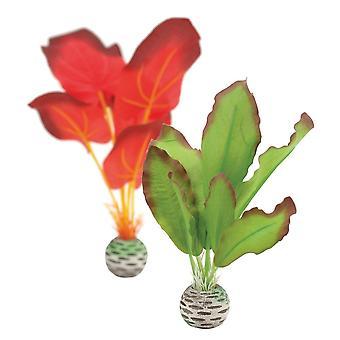 BiOrb Red/Green Silk Plants - Small
