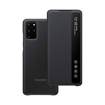 Samsung Smart Clear View Cover EF-ZG980CBEGEU til Galaxy S20 Backcover Black Case