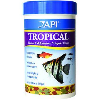 API Tropical Flakes 1000 Ml (162Gr) (Fish , Food , Warm Water)