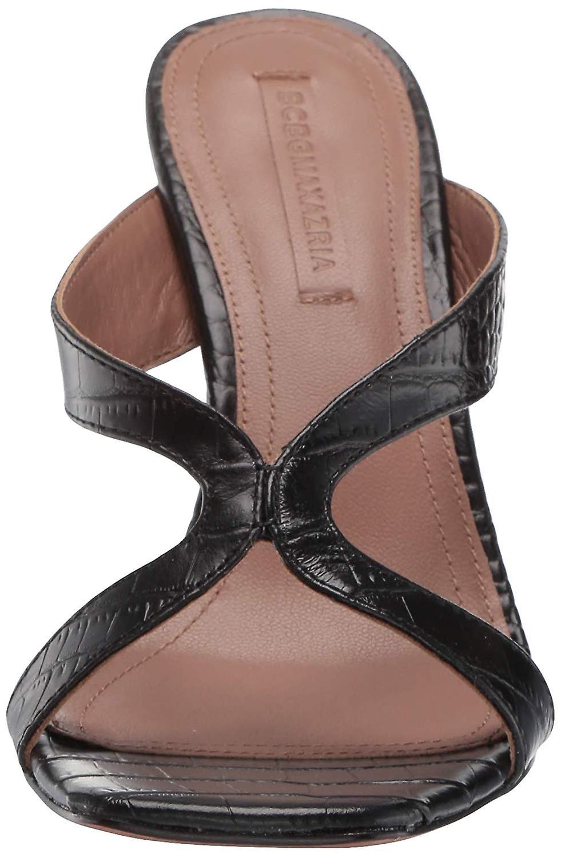 BCBGMAXAZRIA Femmes-apos;s INES Stiletto Mule Heeled Sandal