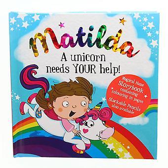 Geschichte & Heraldik Magischer Name Storybook - Matilda