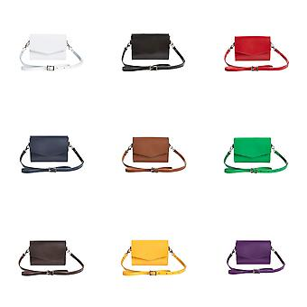Zatchels Womens/Ladies Classic Hand-Crafted Leather Micro Clutch Bags (British Made)