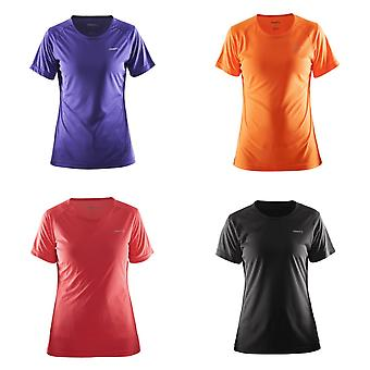 Craft Womens/Ladies Prime Lightweight Moisture Wicking Sports T-Shirt