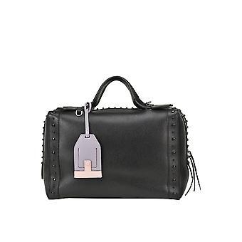 Tod's Ezgl027047 Women's Black Leather Shoulder Bag