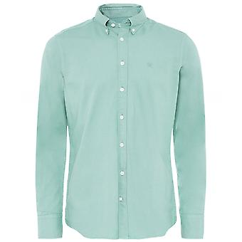 Hackett Slim Fit Garment Dyed Oxford Shirt